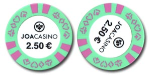 Joa Casinos Poker chip
